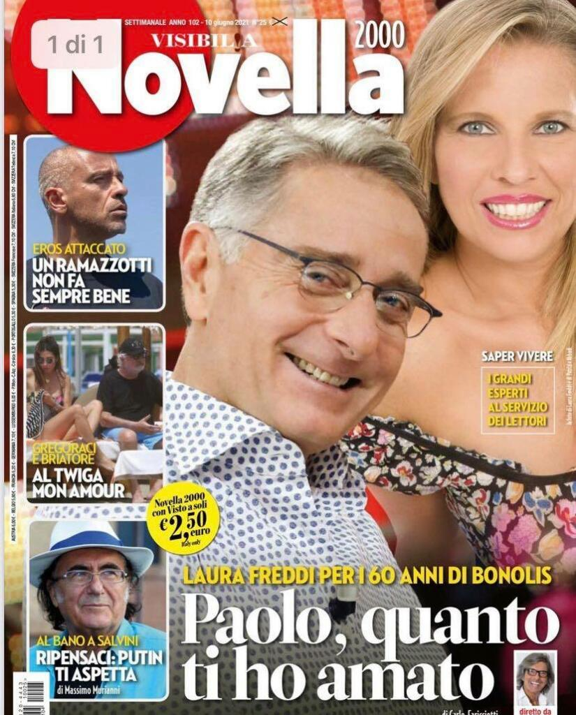 Copertina Novella 2000