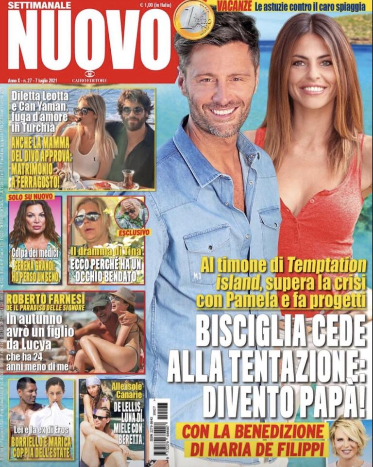 Copertina magazine Nuovo