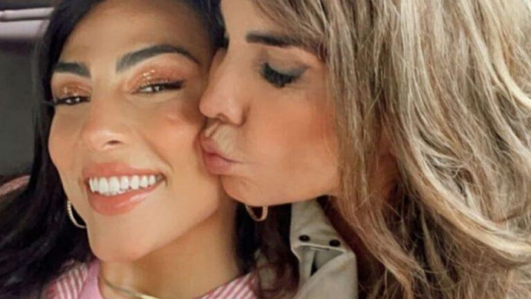 """Fariba Tehrani difende la figlia Giulia Salemi: """"Dalla mattina alla sera si fa un mazzo così"""""""