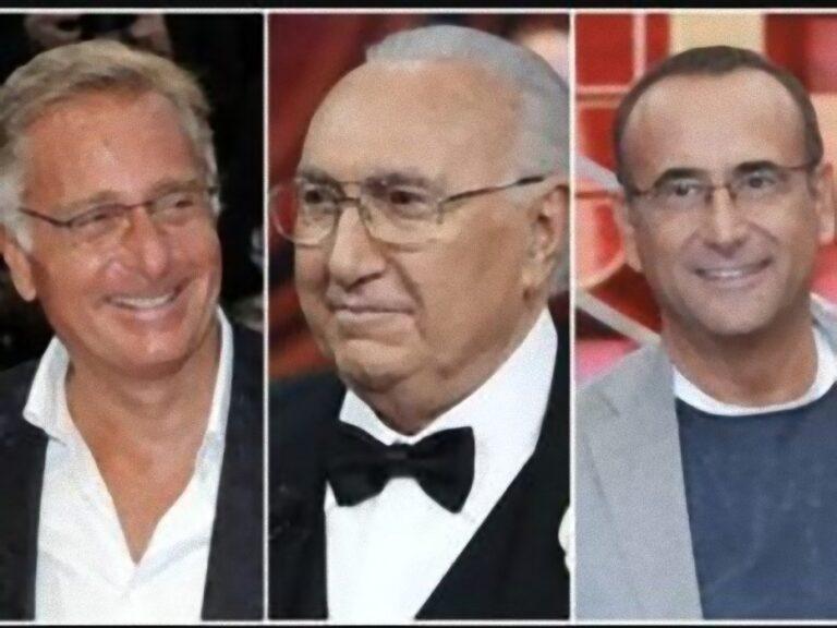 """Pippo Baudo: """"Conti ancora con Tale e Quale è tremendo, Bonolis non si vergogna?"""""""
