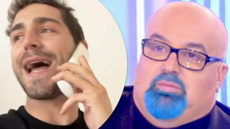 Tommaso Zorzi prende per i fondelliGiovanni Ciacci per il suo presunto addio alla tv