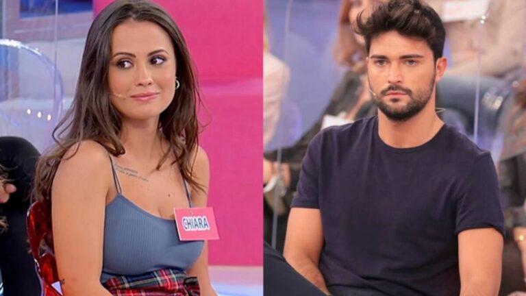 """Davide Donadei pubblica una foto di Chiara senza reggiseno, il web insorge: """"Di cattivo gusto"""" (VIDEO)"""