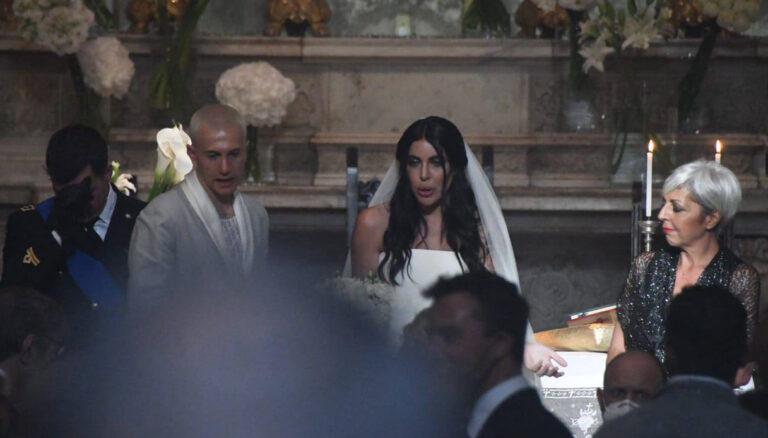 Matrimonio tra Federico Bernardeschi e Veronica Ciardi: le foto e i video dell'evento blindatissimo