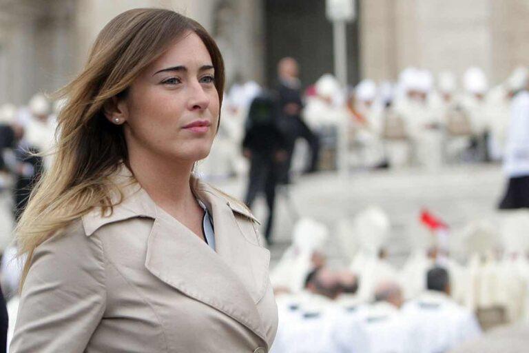 Maria Elena Boschi litiga in TV con Concita De Gregorio