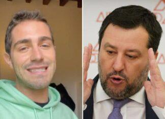 Tommaso Zorzi, Matteo Salvini