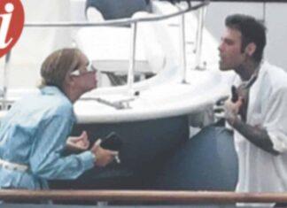 Fedez e Chiara Ferragni litigano