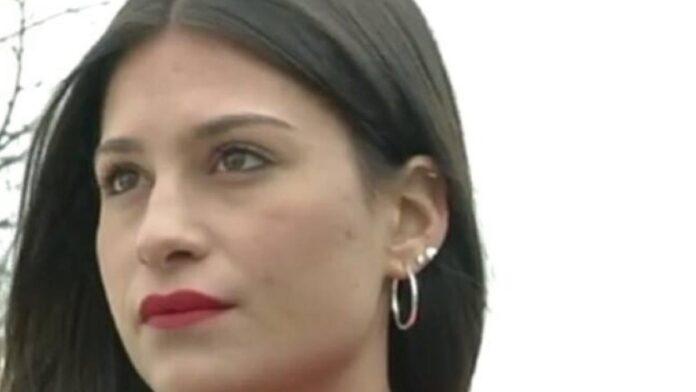 Ludovica Valli in lacrime per sua figlia