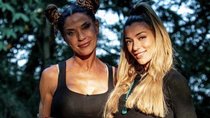 Soleil Sorge e la madre
